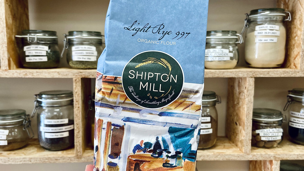 Shipton Mill Organic Light Rye Flour - 1kg