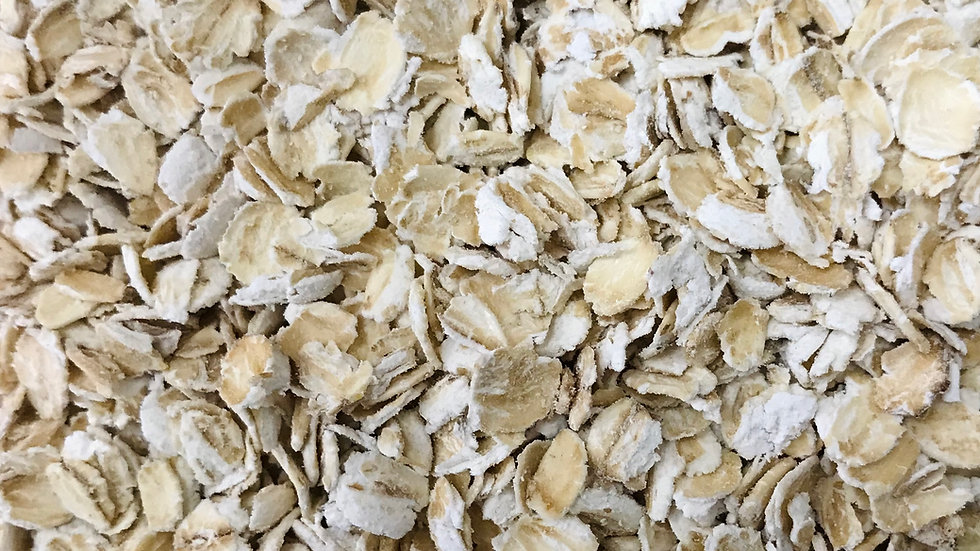Organically Produced Rolled Oatflakes (Porridge Oats) - 500g
