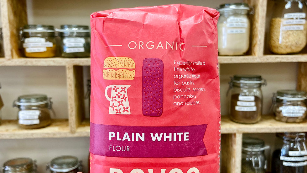 Doves Farm Organic Plain White Flour - 1kg