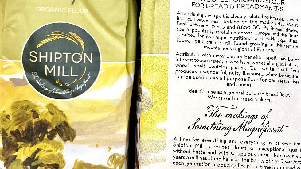 Shipton Mill Spelt Flour - White, Organic - 1kg