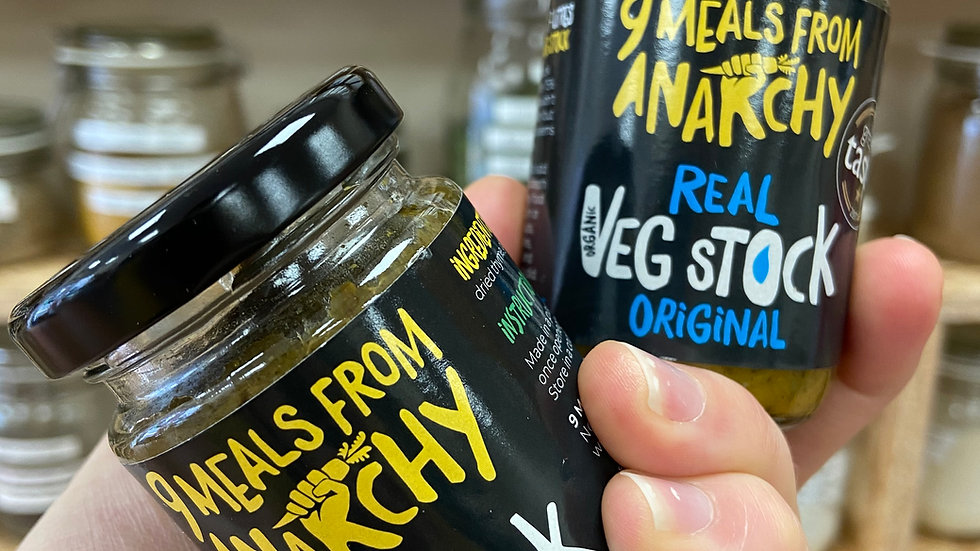9 Meals From Anarchy Vegetable Stock