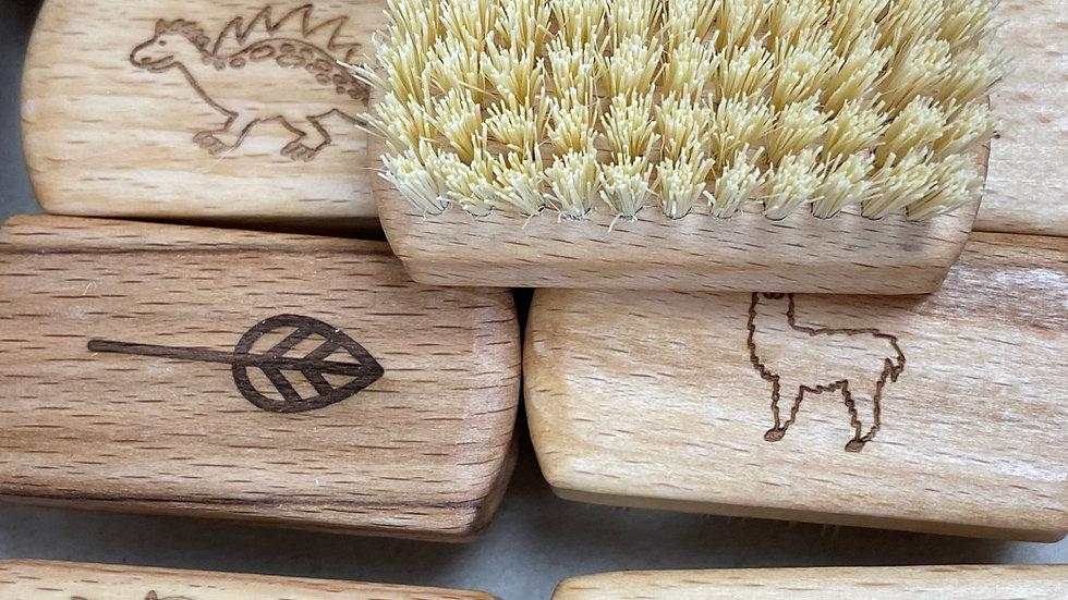 Kids Natural Vegan Nail Brush
