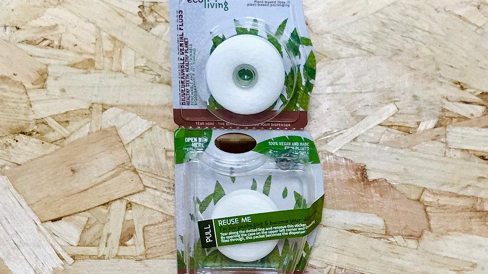 EcoLiving Eco Plant Based Vegan Dental Floss (2 pack)