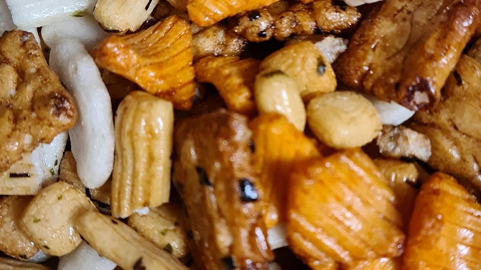 Oriental Rice Crackers - 100g