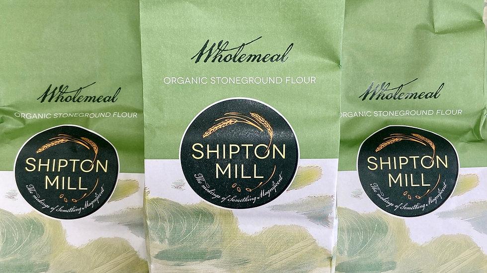 Shipton Mill Organic Wholewheat Flour - 1kg