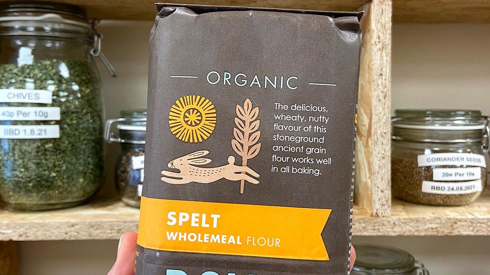 Doves Farm Spelt Flour Wholegrain Organic - 1kg