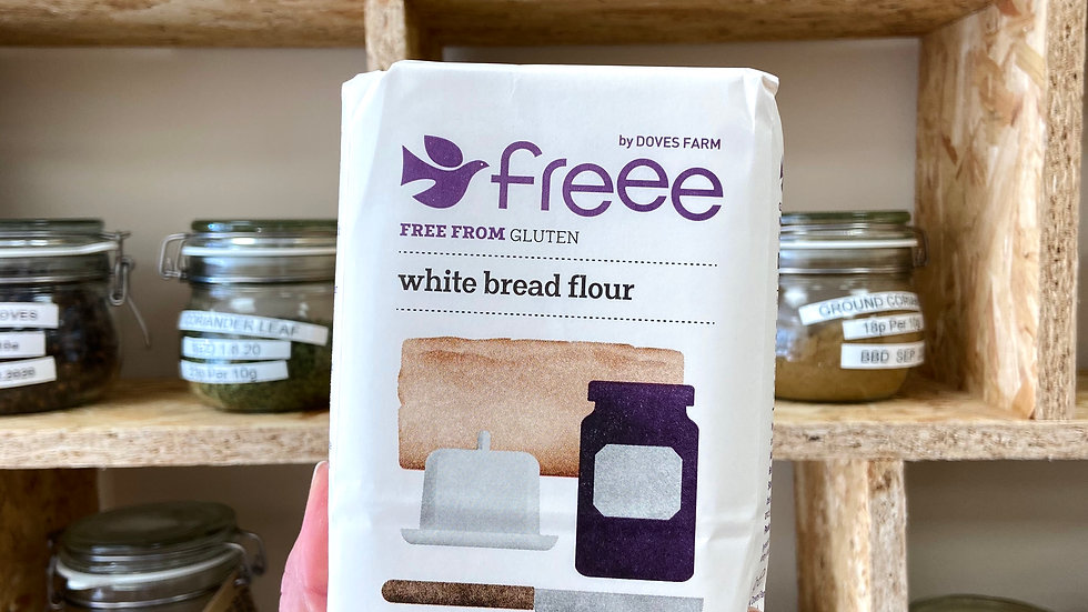 Doves Farm Gluten-free Bread Flour (white) - 1kg