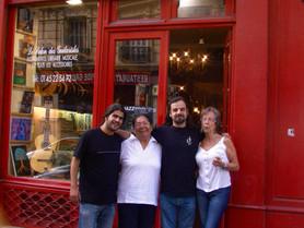 José, Claudia, Fred, Isabel Gomez