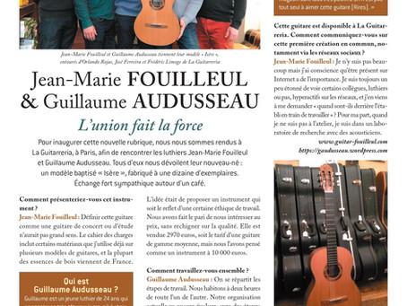 "Jean-Marie FOUILLEUL & Guillaume AUDUSSEAU |  Guitare classique modèle ""Isère"""
