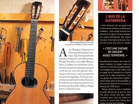 "Hernan VENTURINI |Guitare classique modèle ""Novecento"""