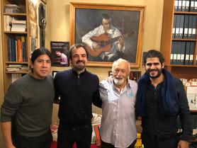 Orlando, Fred, Miguel, José