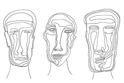 Three Faces