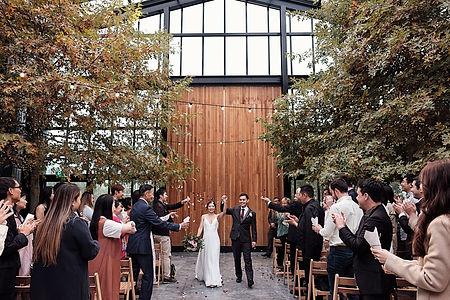 Glasshouse Morningside wedding