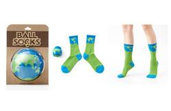地球襪 湛藍太平洋