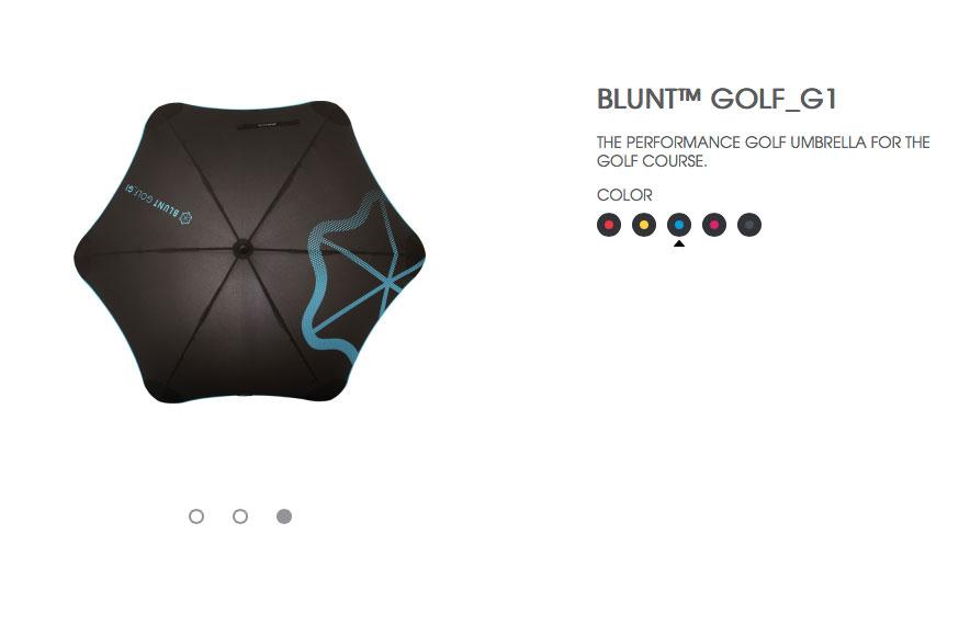 BLUNT GOLF G1 風格藍