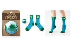 地球襪 綠色亞馬遜