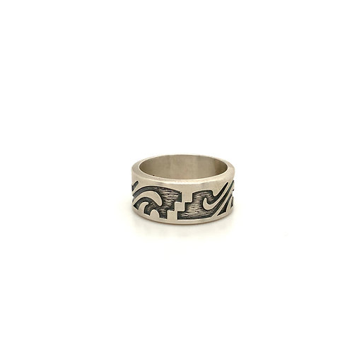 Sterling design ring
