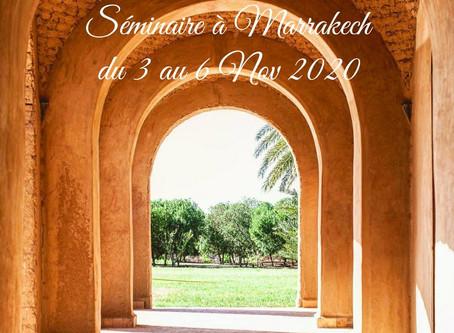 """""""Se Retrouver""""- Séminaire à Marrakech !"""