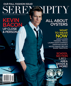 Kevin Bacon for Serendipity Magazine