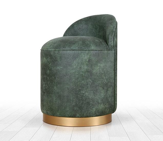 Luton Deri Puf (yeşil)