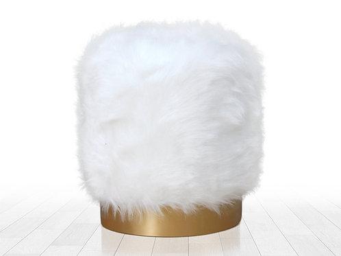 Lovett Puf (beyaz)