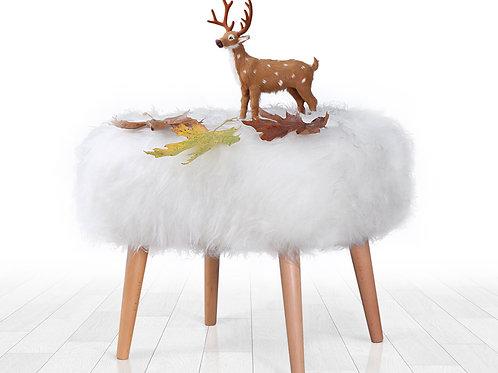 Deer Puf (beyaz)