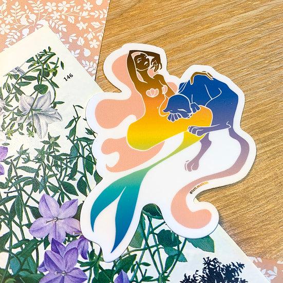 Mermaid Sticker - Single