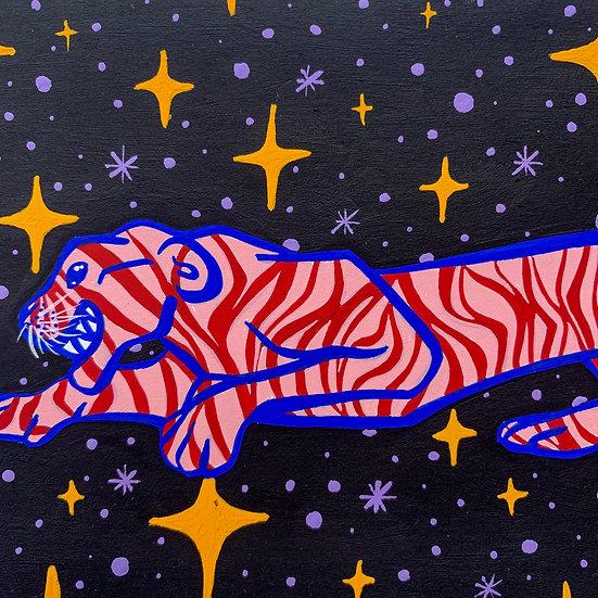 """Stars and Stripes"" Original Painting"