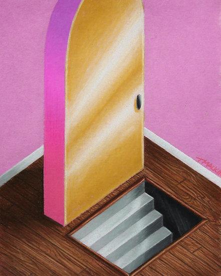 """Trap Doors are Still Doors"" Original Drawing"