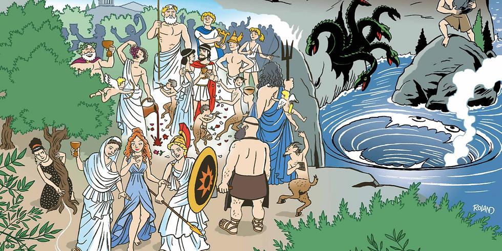 FRISTELSER, FARER OG FALDGRUBER - på rejse gennem Odysseen og Bibelen