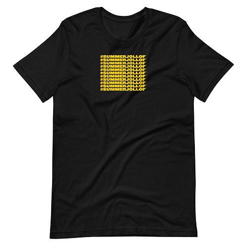 Summer Jollof BLACK Short-Sleeve Unisex T