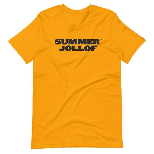 Sumer Jollof GOLD Short-Sleeve Unisex T