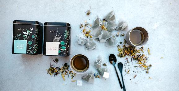 Set of tea samples