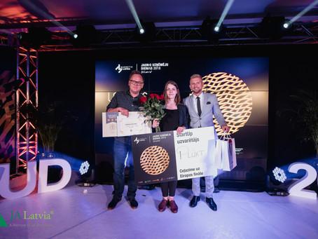 PLŪKT - gada labākais jaunuzņēmums Latvijā 2018