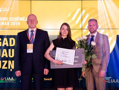 Māra Lieplapa - Gada jaunais uzņēmējs 2019