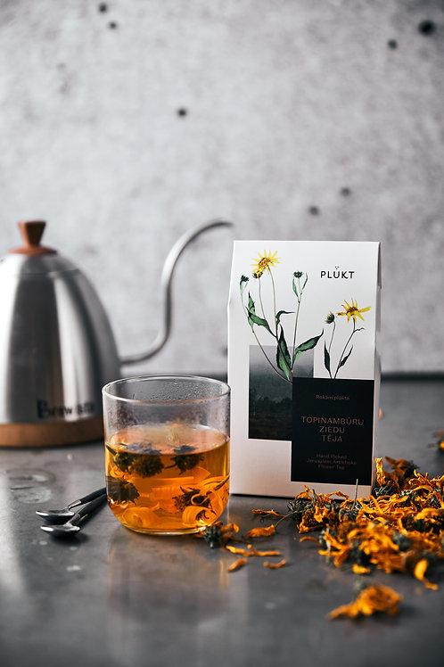 Jerusalem Artichoke's flower tea