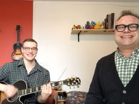 Steven Page and son Ben channel their love of musical theatre