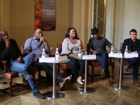 Preses konferences FOTO: PORGIJS UN BESA