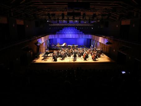 """Fotoieskats mūzikas programmas noslēguma koncertā """"Ziemeļu bākas gaismā"""""""