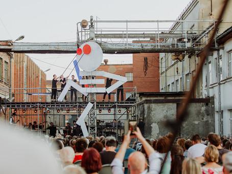 """FOTO: Mākslas festivāla """"Cēsis 2021"""" atklāšana"""