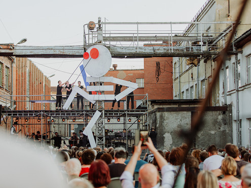 PHOTO: Opening of the Cēsis 2021 Art Festival