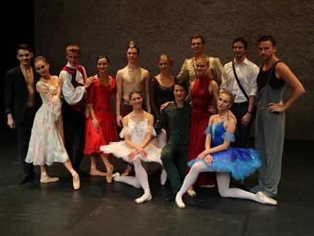 Baleta vakars ALEKSEJA AVEČKINA ZVAIGZNE. FOTO
