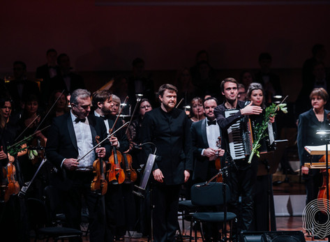 "Simfoniskais hits ar Goran Gora. Akordeons un Maskata ""Tango"". Atskats"