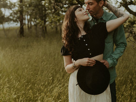 Kendall Wren + Justin - Couples Session - Duncan