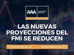 LAS NUEVAS PROYECCIONES DEL FMI SE REDUCEN