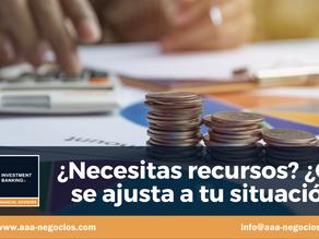 ¿Necesitas recursos?¿Qué se ajusta a tu situación?