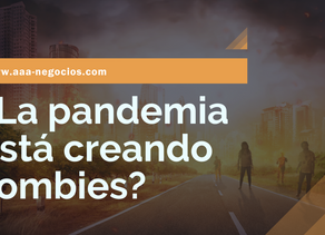 ¿La pandemia está creando zombies?