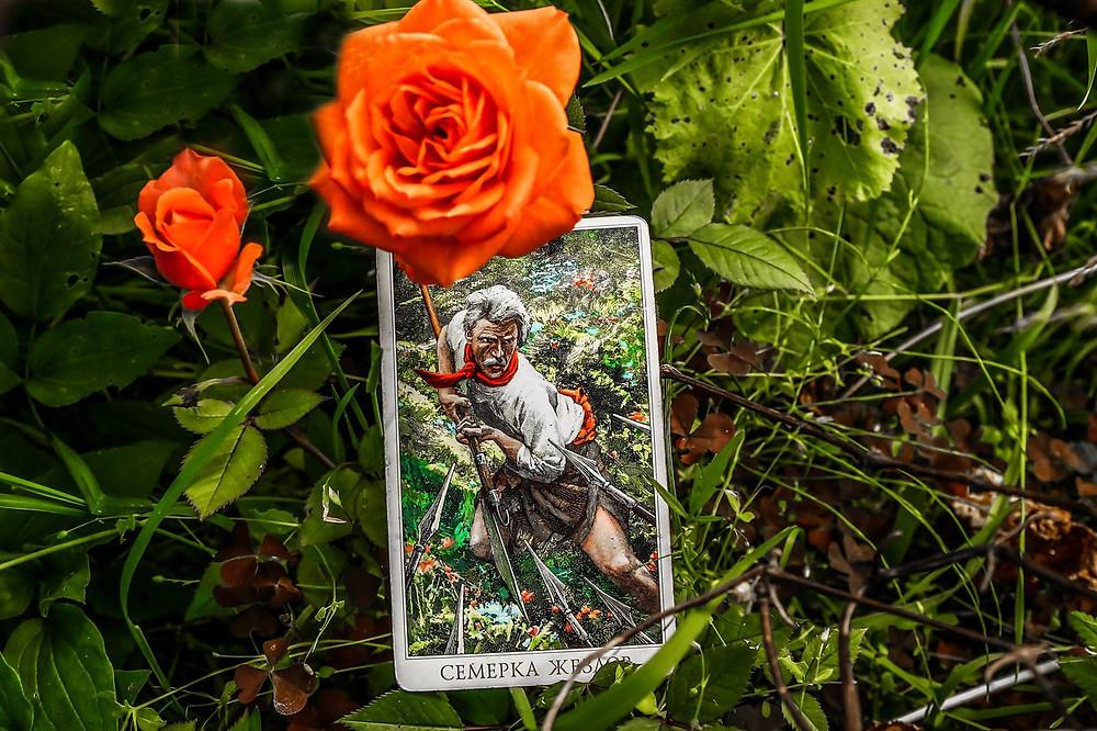 Совет карт Таро на 18 Июля. Семерка Жезлов. Автор прогноза Таро и фотограф, таролог Алёна Панфилова