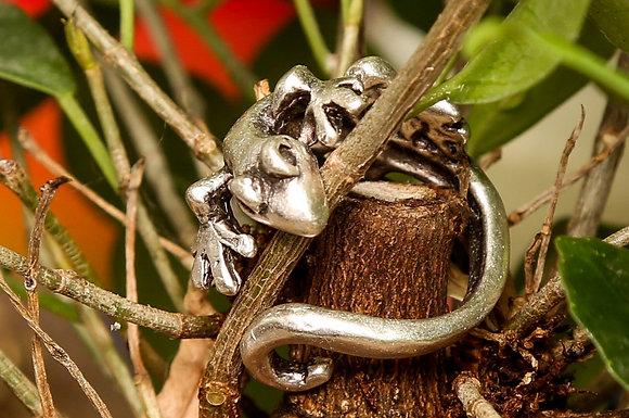 Кольцо. Ящерица.