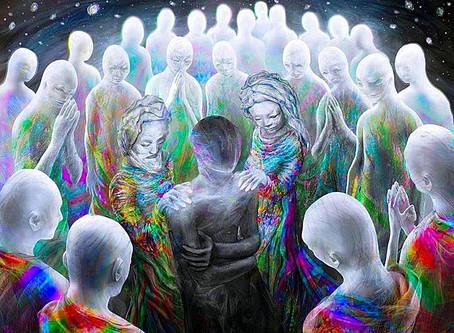 Окружающие нас окружили или общеколлективный поток энергии